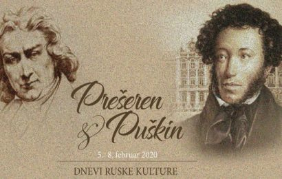 Dnevi ruske kulture: Prešeren in Puškin v Celju