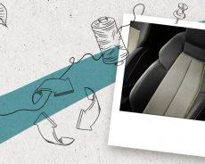 Nove trajnostne sedežne prevleke v Audiju A3  iz 89% recikliranih plastenk!