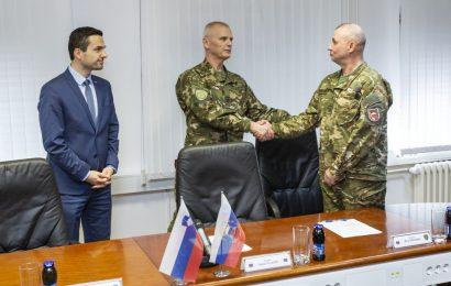 Brigadir Miha Škerbinc prevzel dolžnost poveljnika sil Slovenske vojske