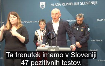Slovenija ne zapira meje z Italijo, uvaja se zdravstveni nadzor potnikov