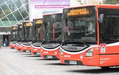 OBVESTILO: O začasni ustavitvi mestnega avtobusnega prometa v Mariboru