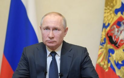 Putin nagovoril državo: V Rusiji razglašen dela prost teden, uvajajo se novi ukrepi