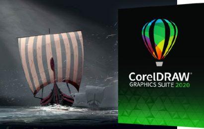 Prišel je novi CorelDRAW Graphics Suite 2020