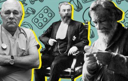 Junaki v belem: Zgodbe o petih izjemnih ruskih zdravnikih