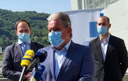 Minister Vizjak ob obisku HE Brežice poudaril pomembnost poenostavitve postopkov in večje učinkovitosti