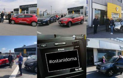 Renault: Solidarnost je na prvem mestu!
