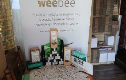 Mlado podjetje WEEBEE d.o.o. doniralo zaščitne maske in konopljin med