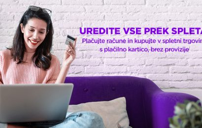 Telemach omogočil plačevanje računov prek spleta brez provizije