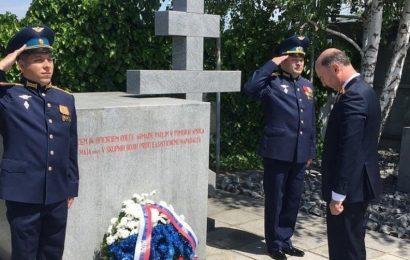 Rusi v Sloveniji počastili spomin na padle rojake na slovenskih tleh