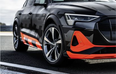Inovativna aerodinamična zasnova modelov Audi e-tron S