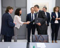 Minister dr. Logar je sprejel predstavnike slovenske narodne skupnosti v Italiji