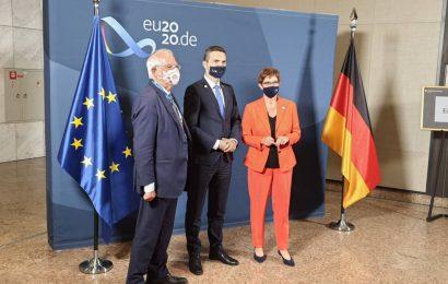 Minister mag. Matej Tonin se v Berlinu udeležuje neformalnega srečanja obrambnih ministrov EU