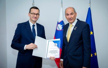 Predsednik vlade Janez Janša s predsedniki vlad na dvostranskih pogovorih