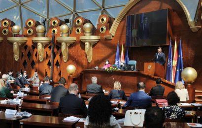 Govor predsednika Pahorja na slavnostni seji Sobranja Republike Severne Makedonije