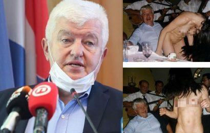 Hrvaški indeksov strokovnjak za Corono je nesrečen kako se obnaša mladina, a na svoje striptizete je pozabil?