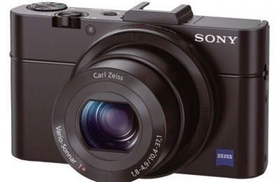 Kompakten in kakovosten Sony fotoaparat za v žep RX100 po novem vedno z mano!