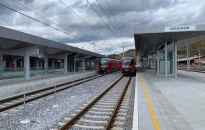 Prenovljena železniška postaja Maribor