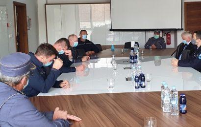 Minister Tonin na terenskem obisku na Celjskem