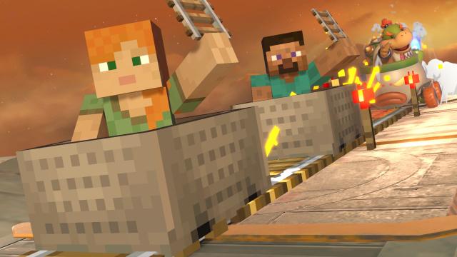 Karakterji iz igre Minecraft prihajajo v igro Super Smash Bros. Ultimate 13 Oktobra
