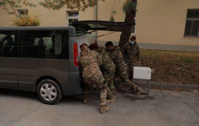 Pripadniki Slovenske vojske sodelujejo pri zajezitvi širjenja novega koronavirusa