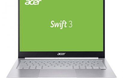 Test notesnika ACER SWIFT 3 z 2256×1504 resolucijo na 13,5 inch zaslonu