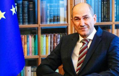 Predsednik vlade Janez Janša: Slovenija ponudila pomoč Hrvaški po rušilnem potresu