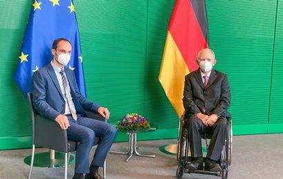 Minister dr. Logar zaključil delovni obisk v Berlinu
