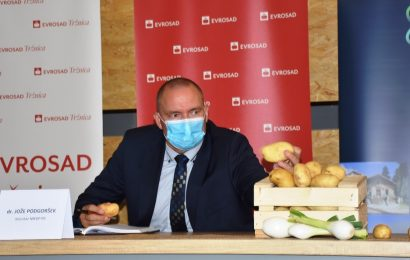 Minister dr. Podgoršek na otvoritvi sezone slovenskega krompirja