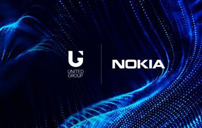 United Group z Nokio sklenil partnerstvo za nadgradnjo jedrnega mobilnega omrežja, ki bo zagotovilo še boljšo uporabniško izkušnjo