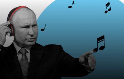 Deset najljubših Putinovih pesmi