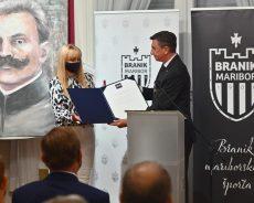 Predsednik republike na slovesnosti ob 120-letnici Zveze mariborskih športnih društev Branik