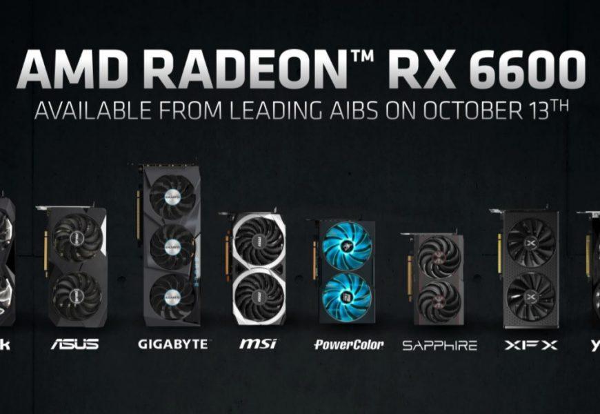 Grafične kartice AMD RADEON RX 6600 so se pojavile na Nemških spletnih trgovinah, a že jih ni več